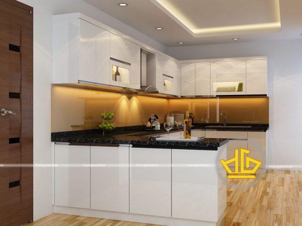 Tủ Bếp Acrylic anh Hưng