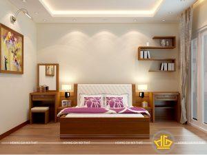 Nội thất phòng ngủ hiện đại Anh Chiều