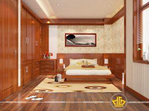 Nội thất phòng ngủ hiện đại Anh Cường Quảng Ninh