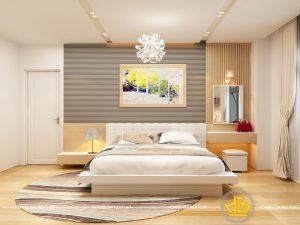 Nội thất phòng ngủ hiện đại Anh Hoàng
