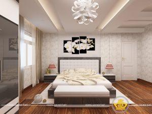 Nội thất phòng ngủ hiện đại Chị Liên