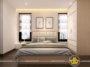 Nội thất phòng ngủ hiện đại Chú Phụng
