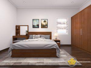 Nội thất phòng ngủ hiện đại Chú Thông Hà Tĩnh