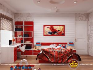 Phòng ngủ bé trai Mẫu 2