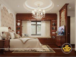 Phòng ngủ tân cổ điển Anh Lâm đường Giải Phóng