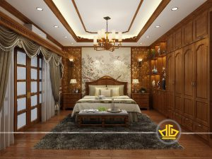 Phòng ngủ tân cổ điển Anh Quang Thái Nguyên