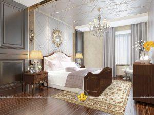 Phòng ngủ tân cổ điển Mẫu 1
