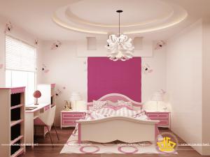 Phòng ngủ trẻ em - Chị Ngân