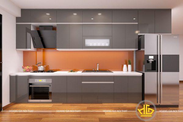 Tủ Bếp Acrylic anh Dung Hà Đông