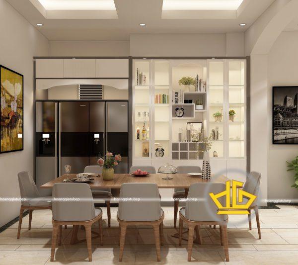 Tủ Bếp Acrylic anh Huy Hào Nam