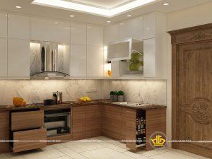 Tủ Bếp Acrylic anh Quân Nguyễn Lương Bằng