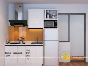 Tủ Bếp Acrylic anh Tân