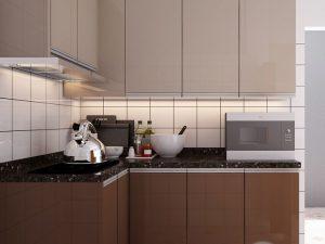 Tủ Bếp Acrylic bác Hào