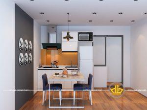 Tủ Bếp Acrylic chị Thoa