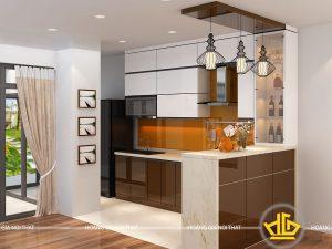 Tủ Bếp Acrylic em Minh
