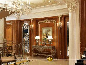 Phòng khách tân cổ điển Mẫu 2