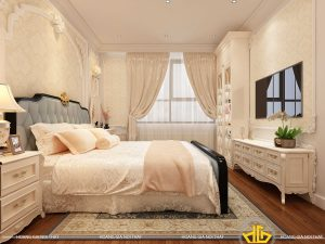 Phòng ngủ tân cổ điển Anh Thắng Nguyễn Tuân