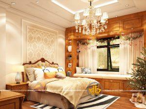Phòng ngủ tân cổ điển Mai Lâm Giải Phóng