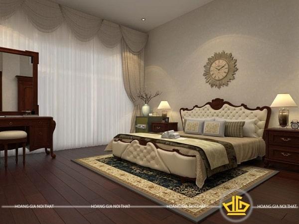 Phòng ngủ tân cổ điển master