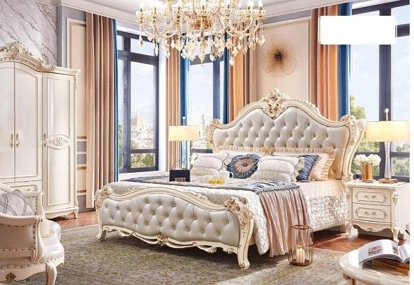 Phòng ngủ tân cổ điển cung điện hoàng gia