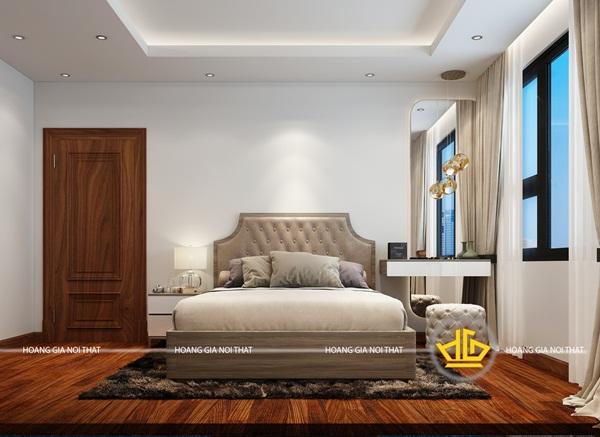 Mẫu thiết kế phòng ngủ với màu trắng thanh lịch