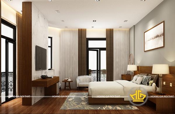 Một không gian phòng ngủ lý tưởng