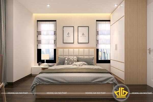 Thiết kế cho phòng ngủ diện tích trung bình