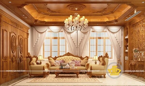 Mẫu thiết kế phòng khách mang vẻ đẹp tinh tế