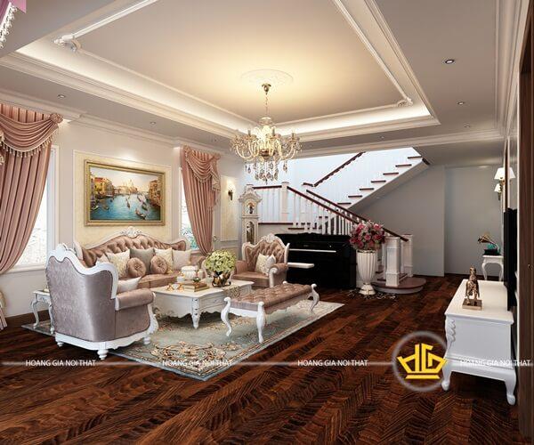 Không gian sang trọng với bố trí nội thất ấn tượng