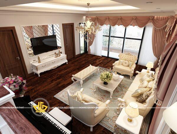Nét tinh tế thể hiện trong việc phối màu, lựa chọn nội thất