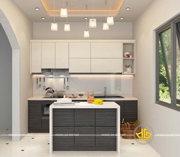 Với đảo bếp đa năng, bạn hoàn toàn tận dụng tốt tất cả những không gian trong bếp tốt hơn